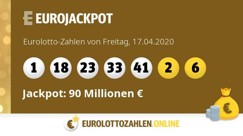 Eurolotto 17.04 20